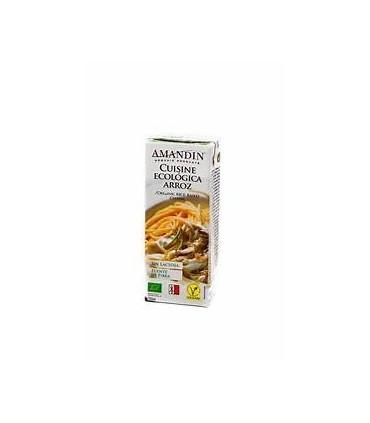 Cuisine ecológica arroz-200 ml (AMANDIN)