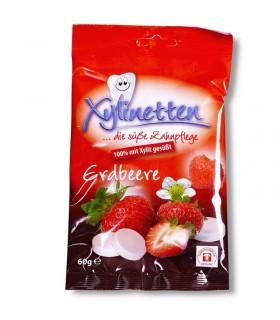 Caramelos xilitol fresa 60g. (ZAHNFREUNDLICH)