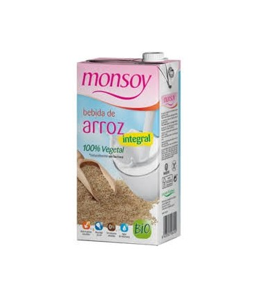 Bebida de arroz integral bio-1 l (MONSOY)