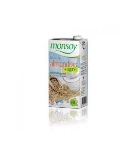 Leche de almendras bio-1 l (MONSOY)