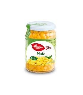Maíz dulce cocido bio-369 g (EL GRANERO)
