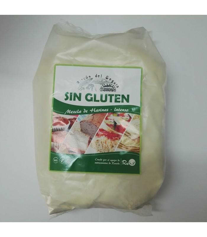Harina sin gluten mezcla Intenso  Bio 1kg (EL RINCON DEL SEGURA)