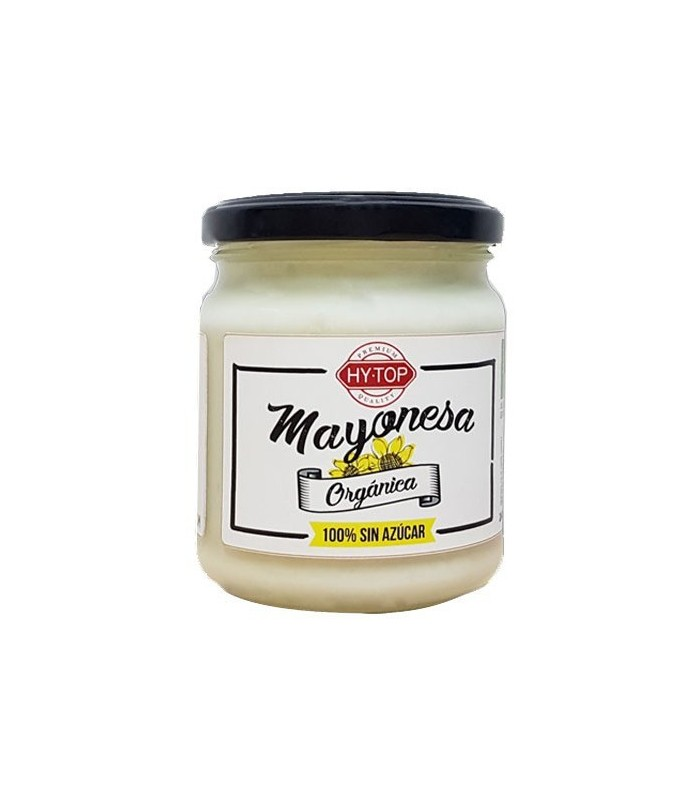 Salsa Mayonesa orgánica sin azúcar 240ml (HYTOP)