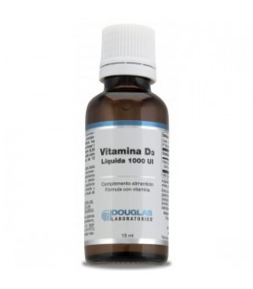 Vitamina D3 líquida 1000 UI-15 ml (DOUGLAS)