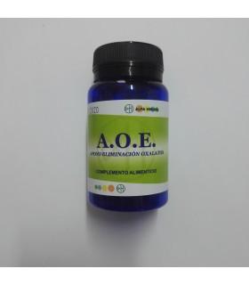 A.O.E. Apoyo Eliminación Oxalatos  60 Cápsulas  (ALFA HERBAL)