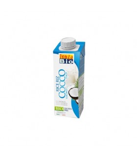 Bebida de arroz y coco bio-250 ml  (ISOLABIO)