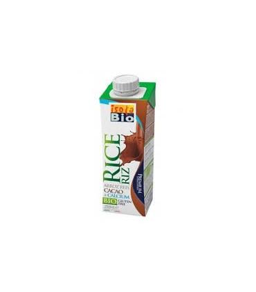Bebida de arroz con cacao y calcio bio-250 ml  (ISOLABIO)