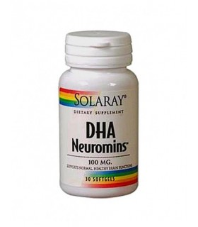 DHA Neuromins 100mg - 30perlas (SOLARAY)