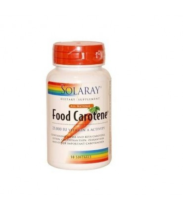 Food carotene-50 perlas (SOLARAY)
