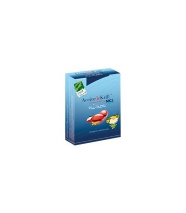 Aceite de Krill NKO niños-60 perlas (100% NATURAL)
