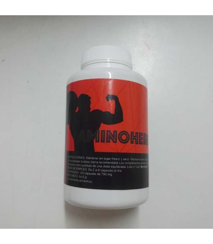 Amino Herbal-120 Cápsulas  (ALFA HERBAL)