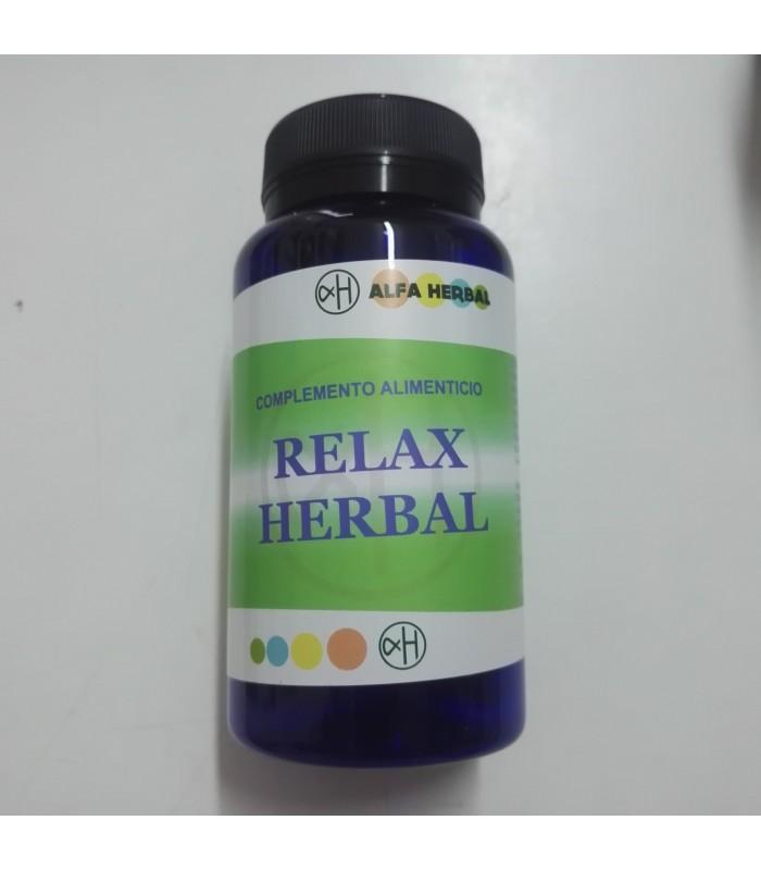 Relax Herbal - 60 cápsulas (ALFA HERBAL)