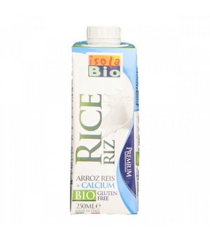 Bebida de arroz + calcio bio-250 ml  (ISOLABIO)
