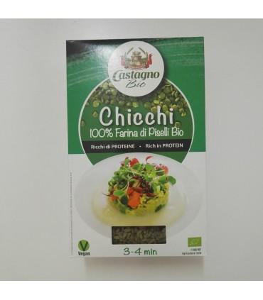 Harina precocinada guisante verde eco-200mg (CASTAGNO)