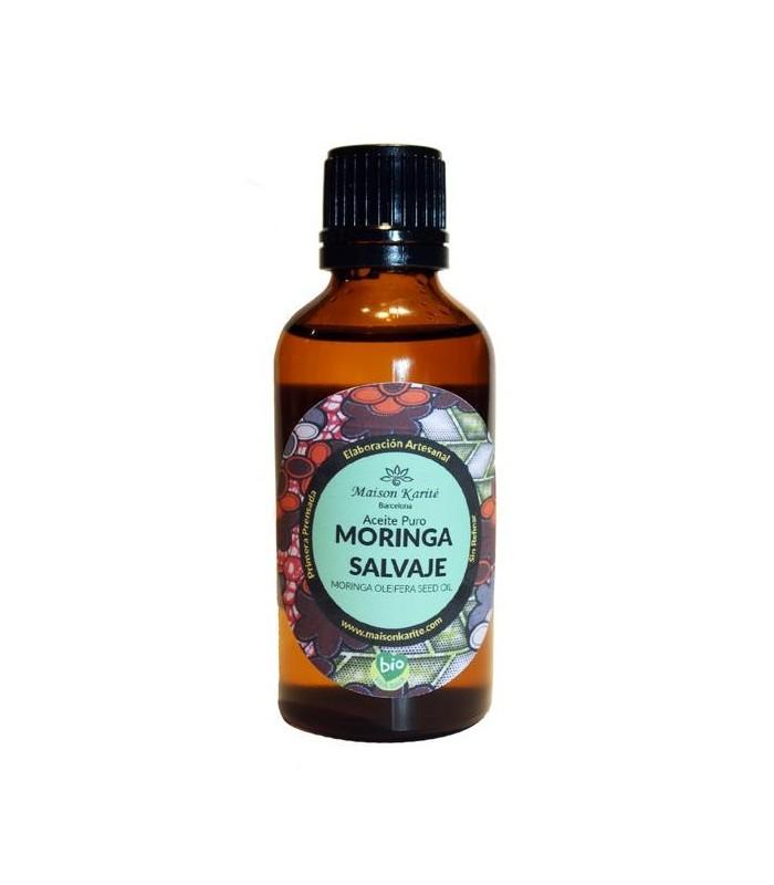Aceite puro Moringa salvaje-55ml  (MAISON KARITÉ)