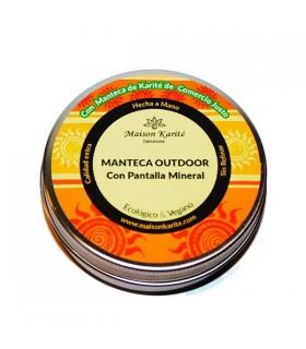Crema de Manteca corporal OutDoor-100ml  (MAISON KARITÉ)