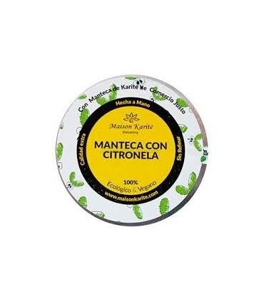 Manteca con citronela  Eco-100ml  (MAISON KARITÉ)