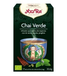 Chai Verde BIO, 17 bolsitas (YOGI TEA)