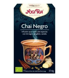 Chai negro BIO, 17 bolsitas (YOGI TEA)