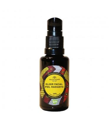 Elixir facial piel radiante  Eco (+40)-30ml  (MAISON KARITÉ)