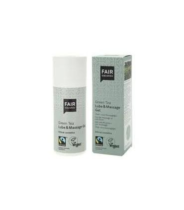 Lubricante y gel de masaje Té verde -150 ml. (FAIR SQUARED)