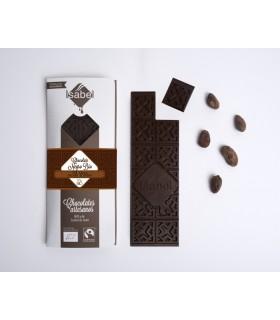 Chocolate negro Bio sin azúcar 100% cacao (ISABEL)