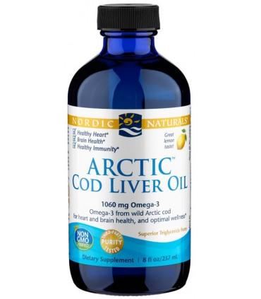 Arctic Cod liver Oil - 237 ml (NORDIC NATURALS)