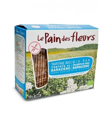 Pan de flores trigo sarraceno sin sal bio-150 g (LE PAIN DE FLEURS)