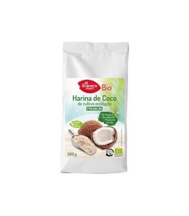Harina de coco Eco-500g (EL GRANERO)