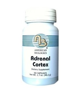Adrenal cortex 200 mg-60 caps (AMERICAN BIOLOGICS)