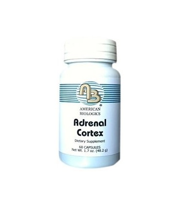Adrenal cortex 200 mg-60 caps (AMERICAN BIOLOGICS)
