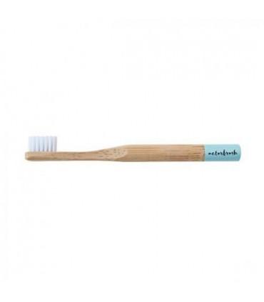 Cepillo de dientes de Bambú niño azul  (NATURBRUSH)
