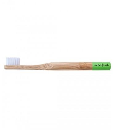 Cepillo de dientes de Bambú niño Rosa  (NATURBRUSH)