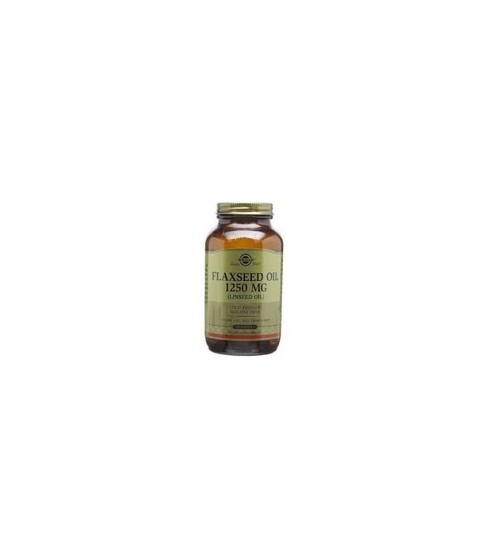 Aceite de linaza 1250mg-100 caps (SOLGAR)