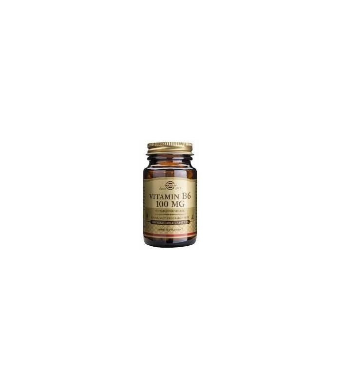 vitamina B6 100mg (piridoxina)-100cap.veg. (SOLGAR)