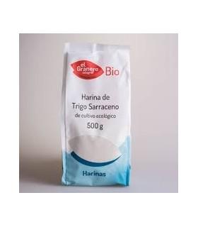 Harina trigo sarraceno bio-500 g (EL GRANERO)