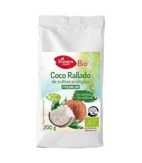 Coco Rallado Fino eco -200g. (EL GRANERO)