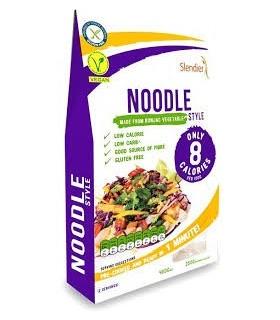 Noodles konjac bio-400 g (SLENDIER)