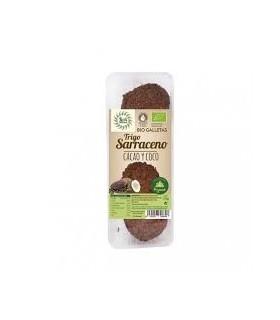 Galletas Bio Trigo sarraceno cacao y coco 175g. (SOL NATURAL)