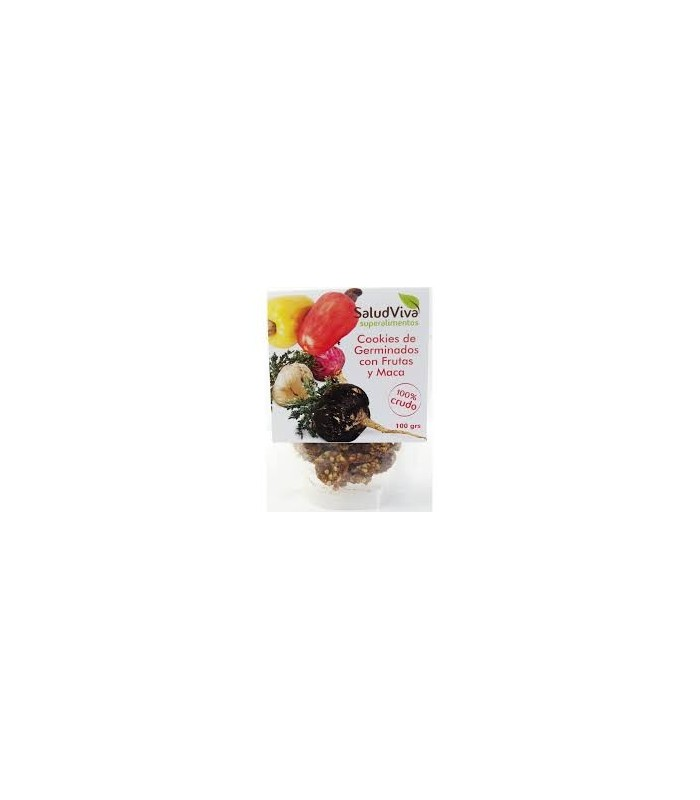 Cookis de germinados con maca ECO 100gr.  (SALUD VIVA ECO)
