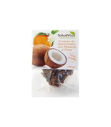 Cookis de germinados con naranja ycoco ECO 100gr.  (SALUD VIVA ECO)