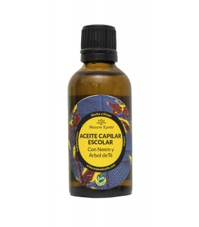 Aceite capilar escolar -50ml  (MAISON KARITÉ)