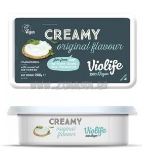 Crema queso vegano sabor queso original untar-200 g (VIOLIFE)