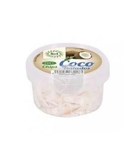 Chips de coco tostados Bio Sri Lanka  -60 gr. (SOL NATURAL)