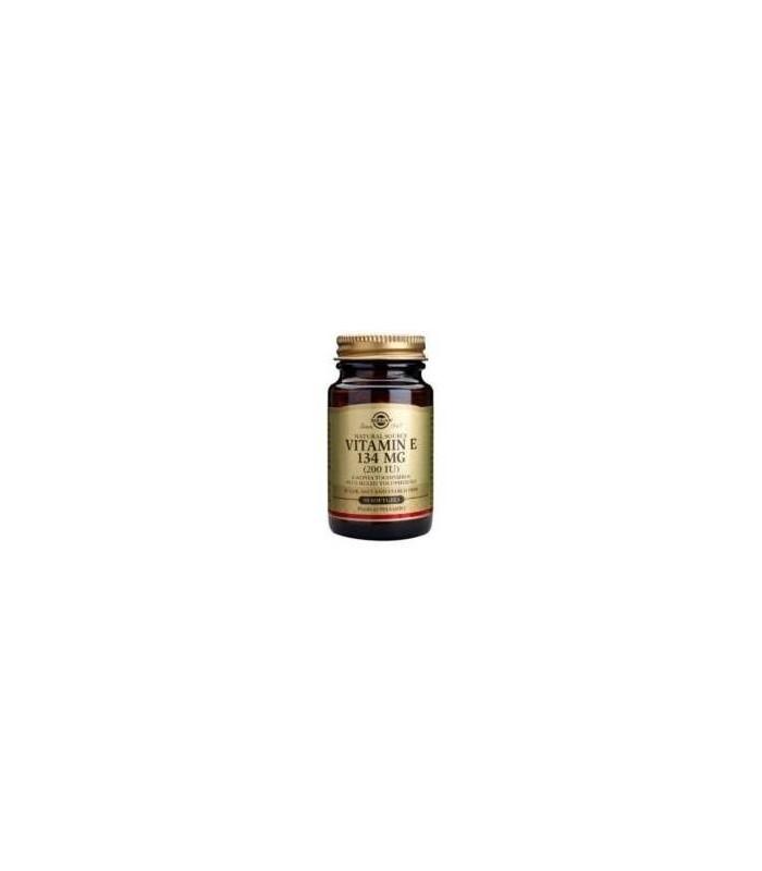 Vitamina E 200 U  134mg I-50 cápsulas (SOLGAR)