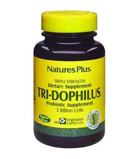 Tri-Dophilus - 60 capsulas (NATURE'S PLUS)