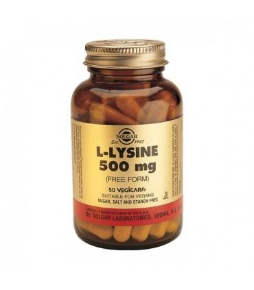 L-Lisina 500 mg-50 cápsulas (SOLGAR)
