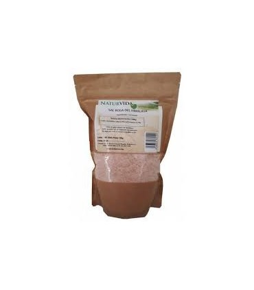 Sal rosa del Himalaya 1kg. (NATURVIDA)