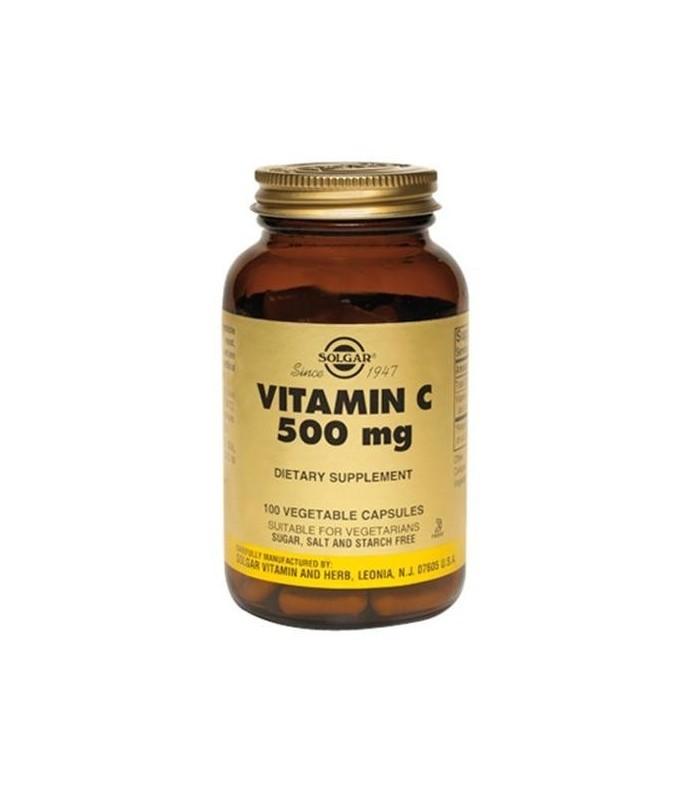 Vitamina C 500 mg-100 cápsulas (SOLGAR)