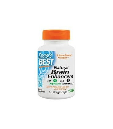 Natural Brain Enhancers Doctor's Best 60 cap. (science-based nutrition)